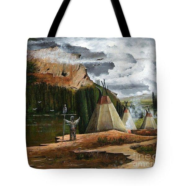 Spiritual Home Tote Bag