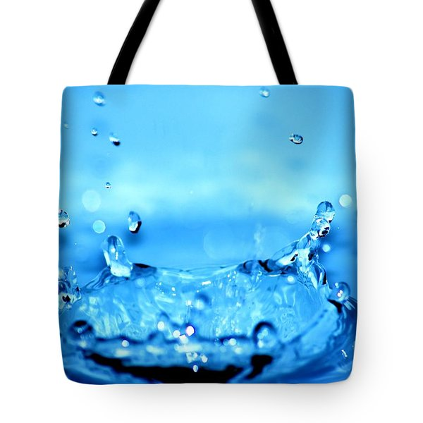 Splash Tote Bag by Michal Bednarek