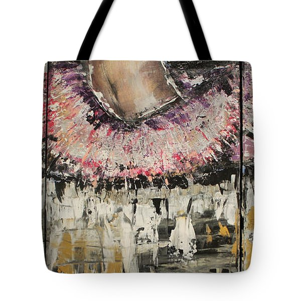 Split Endz Tote Bag by Lucy Matta - LuLu
