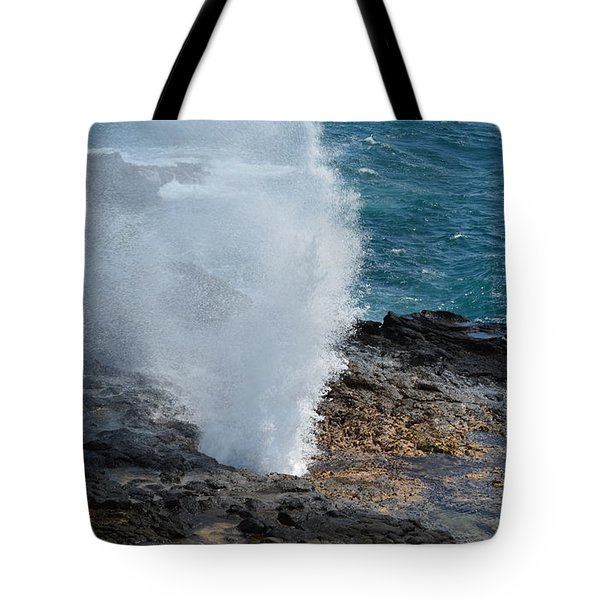 Spouting Horn Tote Bag by P S