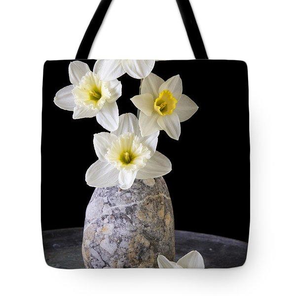 Spring Daffodils Tote Bag by Edward Fielding