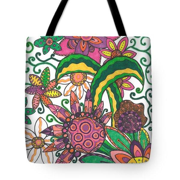 Spring Fever Tote Bag by Jill Lenzmeier