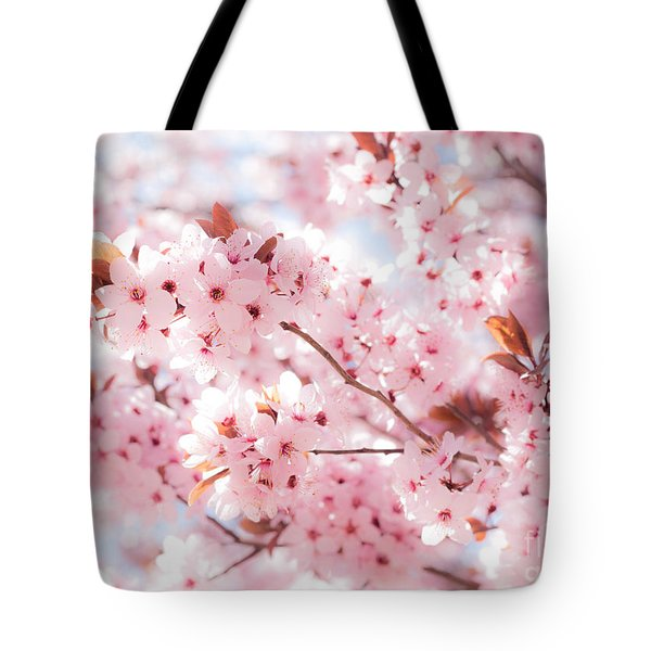 Spring Tote Bag by Roselynne Broussard