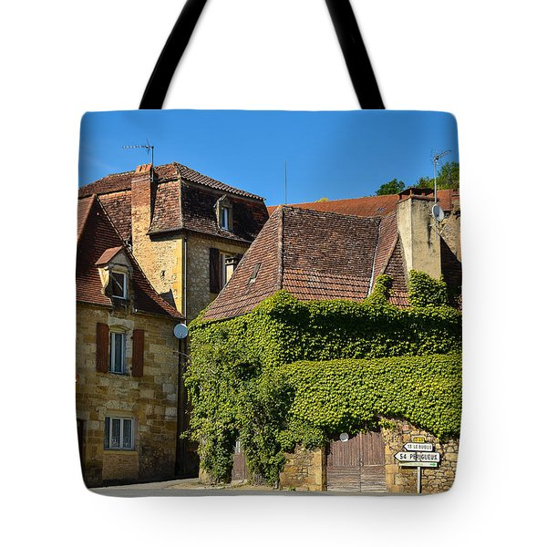 Tote Bag featuring the photograph St Cyprien En Perigord by Dany Lison