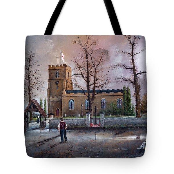 St Marys Church - Kingswinford Tote Bag