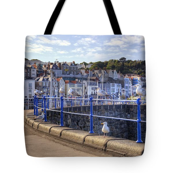 St Peter Port - Guernsey Tote Bag by Joana Kruse