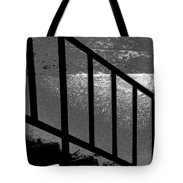Stairs Tote Bag by Lenore Senior