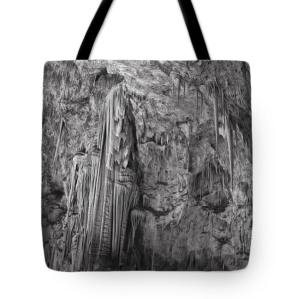 Stalactites In The Hall Of Giants Tote Bag