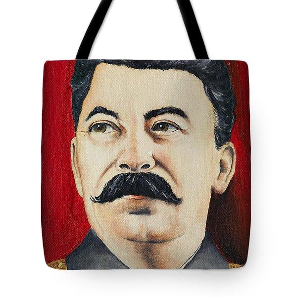 Stalin Tote Bag by Michal Boubin