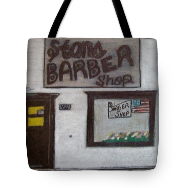 Stans Barber Shop Menominee Tote Bag