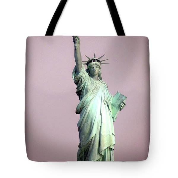 Statue Of Liberty Tote Bag by Ed Weidman