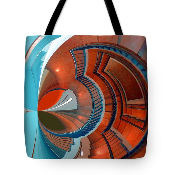 Step Tote Bag by Nico Bielow