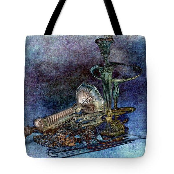 Sterling Silver Tote Bag by Gunter Nezhoda