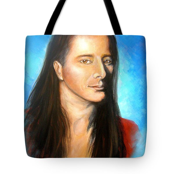 Steve Perry Tote Bag