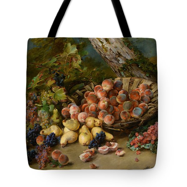 Still Life With Fruits Tote Bag by Madeleine Jeanne Lemaire