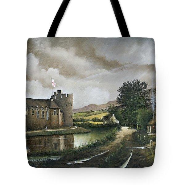 Stokesay Castle Tote Bag