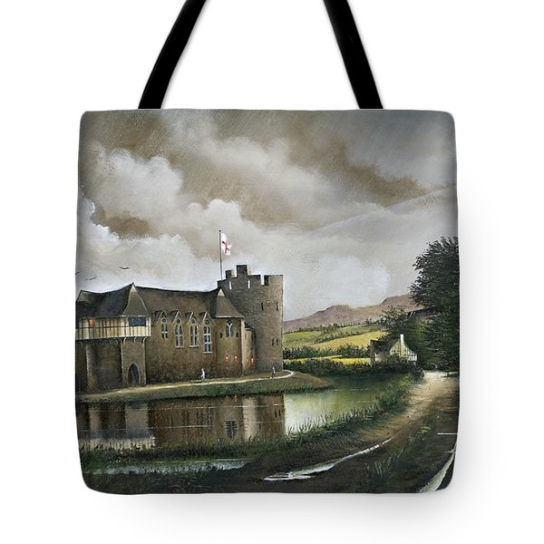 Stokesay Castle Tote Bag