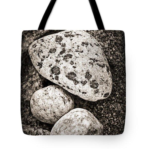 Stones Tote Bag by Elena Elisseeva