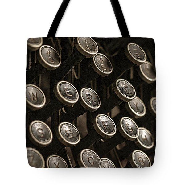 Stories To Tell Tote Bag by Andy Crawford