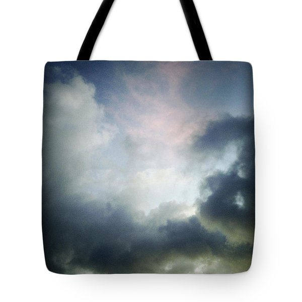 Storm Clouds Tote Bag by Les Cunliffe