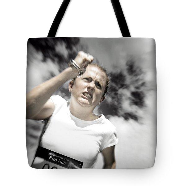 Storming Ahead Tote Bag