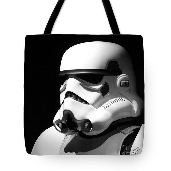 Stormtrooper Tote Bag by Chris Thomas