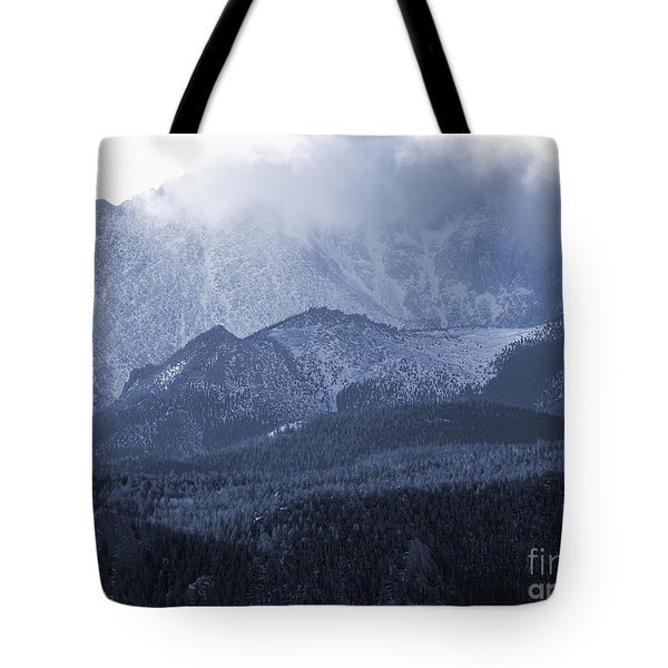Stormy Peak Tote Bag