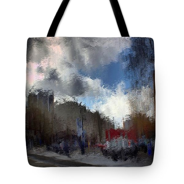 Streetlights 2 Tote Bag by Terence Morrissey