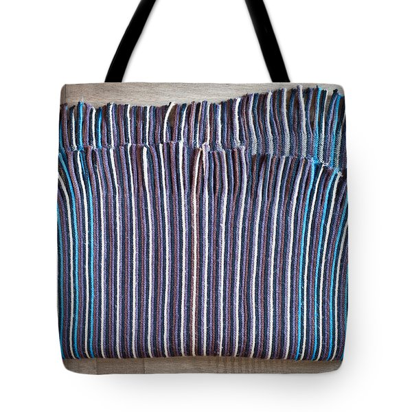 Striped Scarf Tote Bag by Tom Gowanlock
