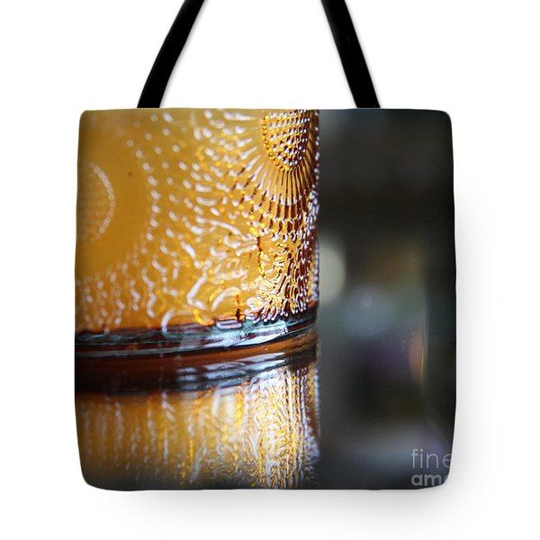 Studies In Glass ...amber  Tote Bag by Lynn England