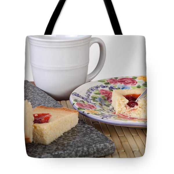 Studio Shot Of Home Made Pastry Tote Bag