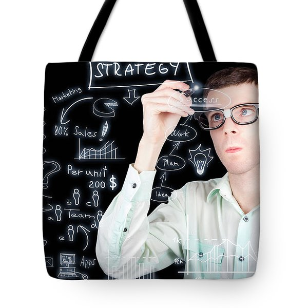 Success In Planning A Smart Business Strategy Tote Bag
