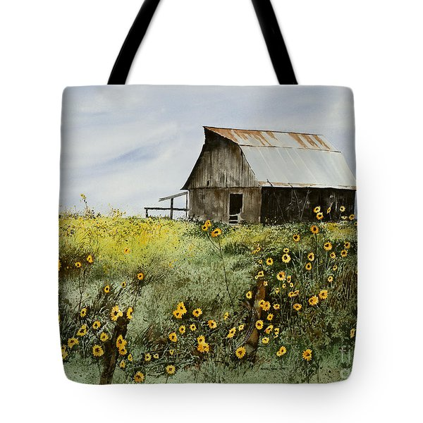 Summer Ballet Tote Bag