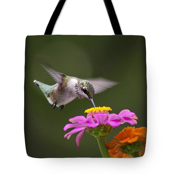 Summer Breeze Tote Bag by Christina Rollo