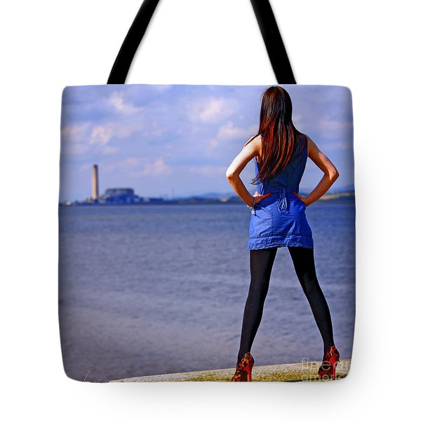 Summer Dress Tote Bag