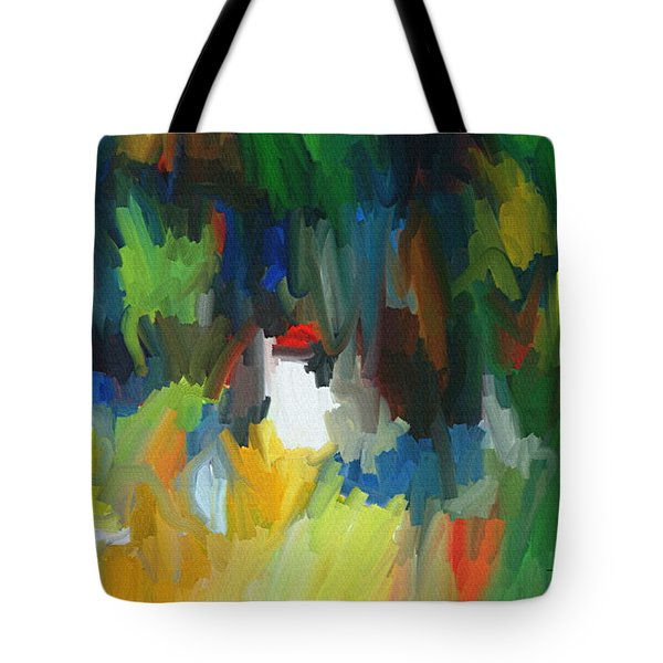 Summer Garden Tote Bag by Thomas Bryant