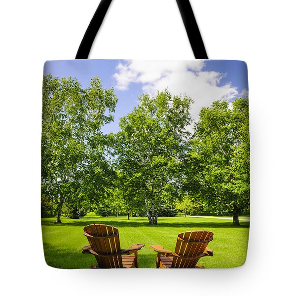 Summer Relaxing Tote Bag by Elena Elisseeva