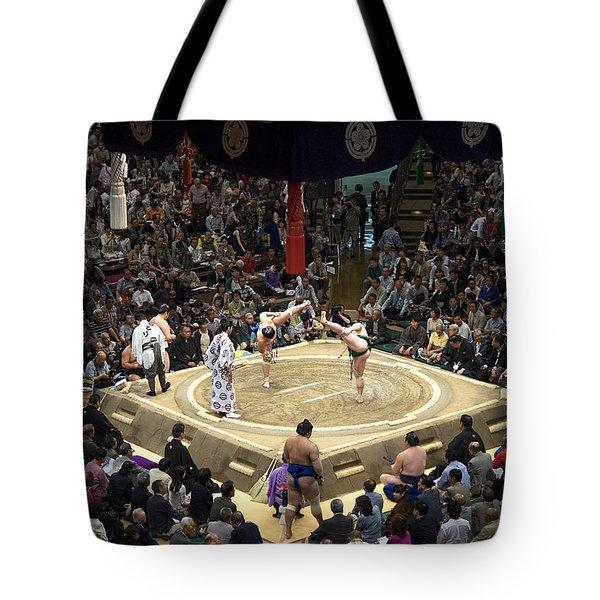 Sumo Summer Tournament 2014 Tokyo Tote Bag