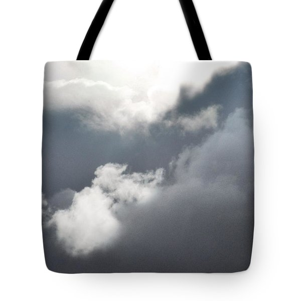 Sun Amongst The Clouds Tote Bag by Alohi Fujimoto