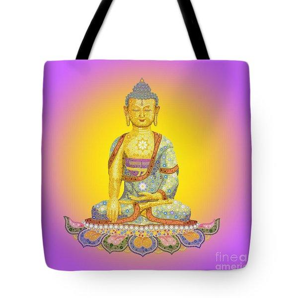Sun Buddha Tote Bag
