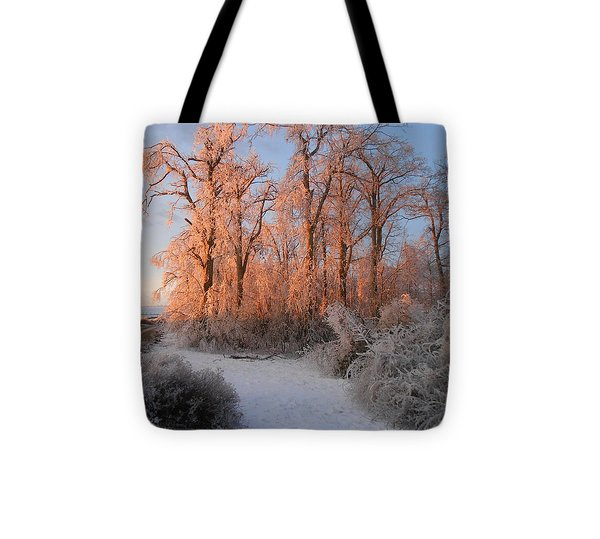 Sun Rising Tote Bag by Diannah Lynch