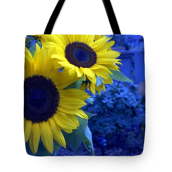 Tote Bag featuring the photograph Sunflowers by Arlene Carmel