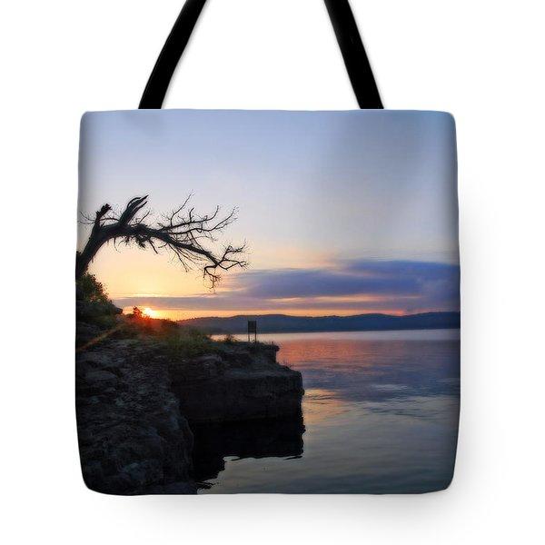Sunrise Over Table Rock Lake Tote Bag