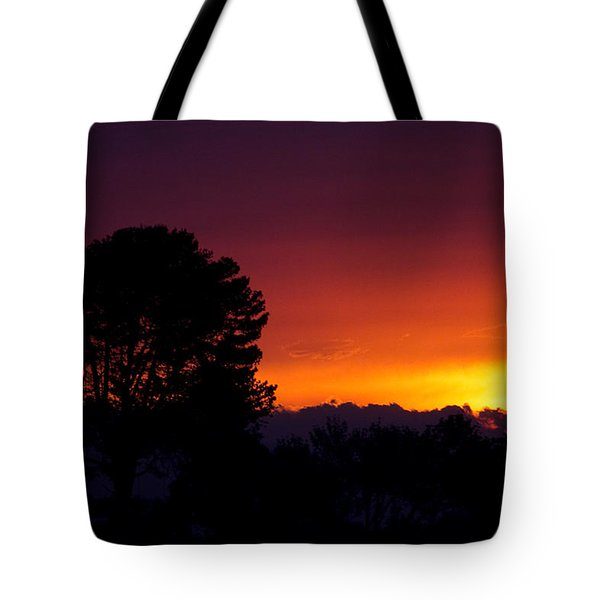 Tote Bag featuring the photograph Sunset by Brian Williamson