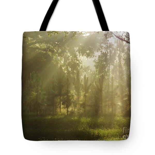 Sunshine Morning Tote Bag