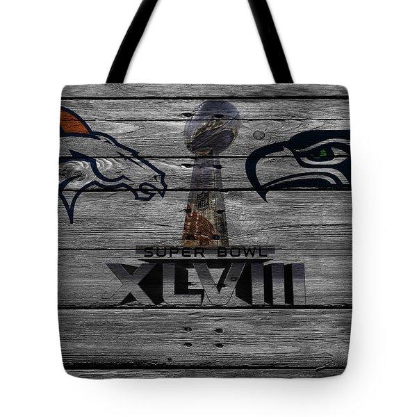 Super Bowl Xlviii Tote Bag