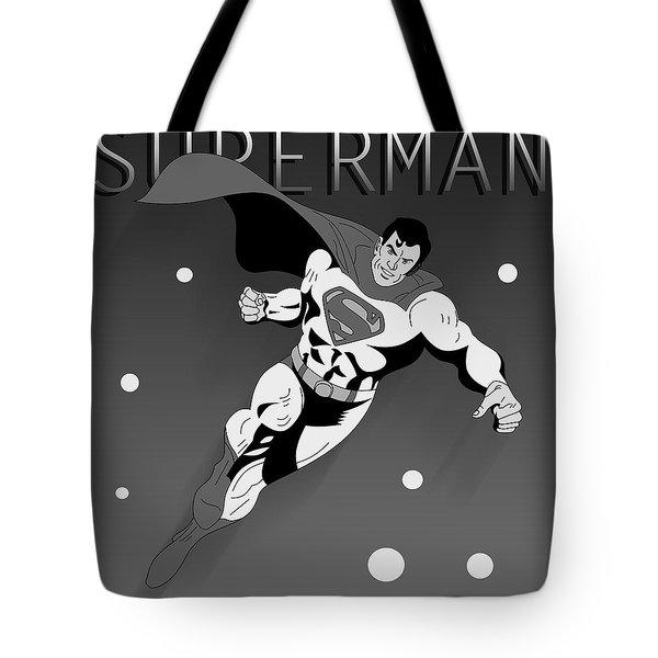 Superman  Tote Bag by Mark Ashkenazi