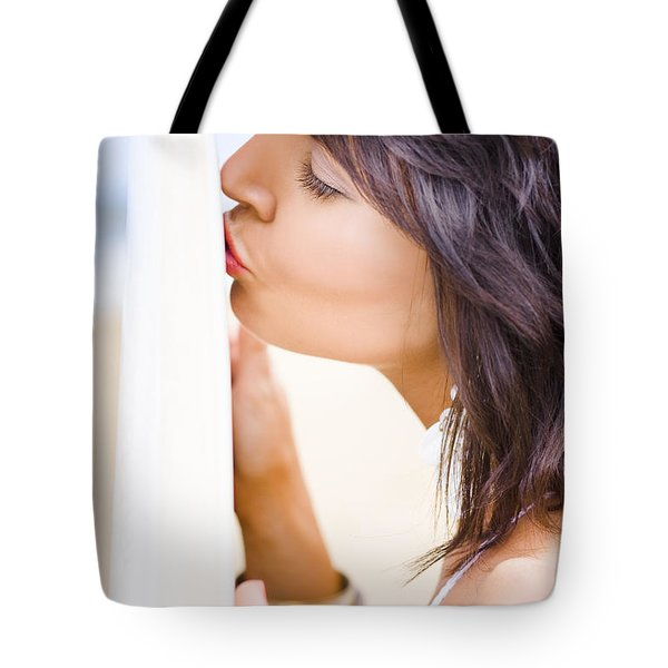 Surfing Love Tote Bag