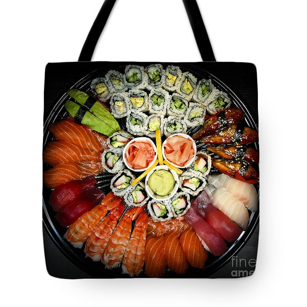 Sushi Party Tray Tote Bag by Elena Elisseeva