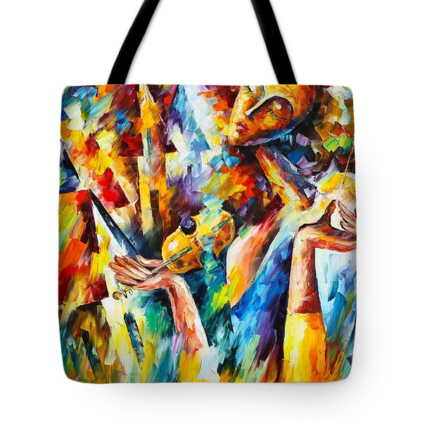 Sweet Dreams Tote Bag by Leonid Afremov